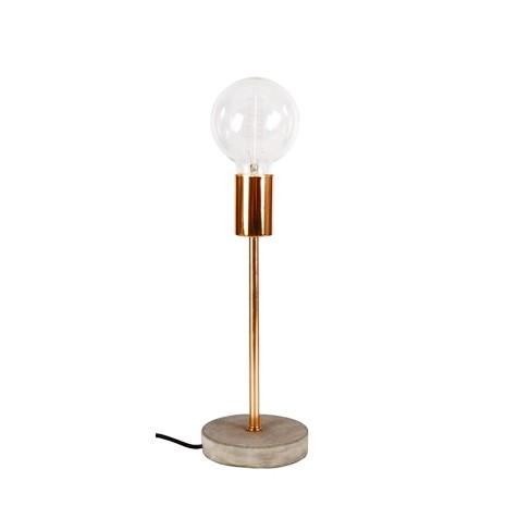 lampa beton miedż