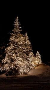 lampki choinkowe świąteczne ciepłe