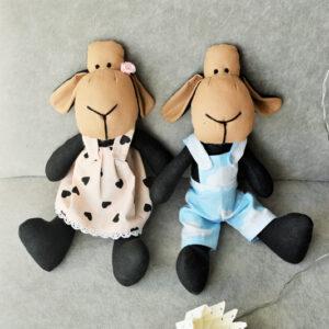 czarne owieczki hand made