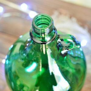 gąsior zielony butelkowy ozdobny